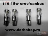 T10 15W CREE CANBUS STRONG