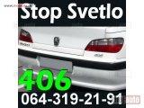 406 Stop Svetlo Peugeot Pežo