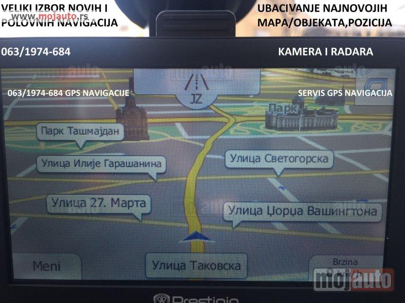Polovni Gps Navigacije Prodaja Ubacivanje Mape Mapa Navigacija