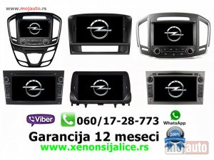 NOVI: delovi  Multimedija navigacija opel program multimedia gps dvd radio