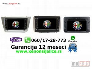 NOVI: delovi  Multimedija navigacija alfa romeo program multimedia gps dvd radio