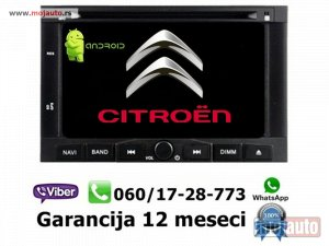 NOVI: delovi  Multimedija navigacija citroen berlingo android multimedia gps dvd radio