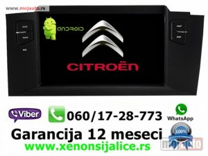 NOVI: delovi  Multimedija navigacija citroen c4 ds4 android multimedia gps dvd radio