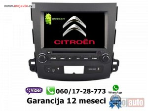 NOVI: delovi  Multimedija navigacija citroen c crosser android multimedia gps dvd radio