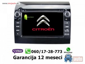NOVI: delovi  Multimedija navigacija citroen jumper android multimedia gps dvd radio