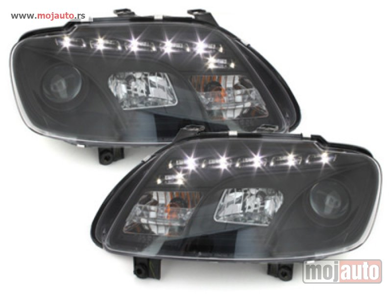 Glavna slika -  Devil Eye farovi VOLKSWAGEN TOURAN,CADDY Black 03-06 - MojAuto