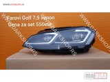 NOVI: delovi  golf 7.5 xenon far+drl od 16-.  odgovara za model sa halogenim farom.