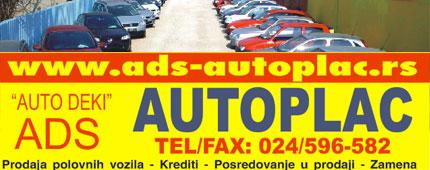 Auto Plac Auto Deki Subotica