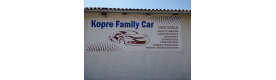 Auto plac KOPRE FAMILY CAR